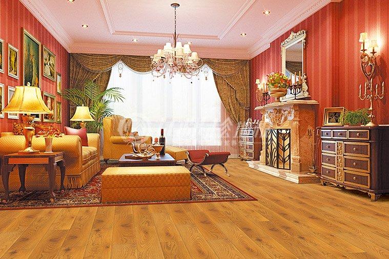 九棵松地板圖片 客廳地板裝修效果圖