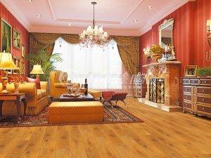 九棵松地板图片 客厅地板装修效果图