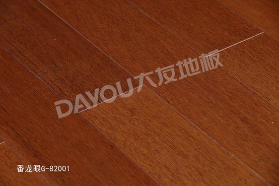 大友地板产品-实木系列番龙眼地板G-82001
