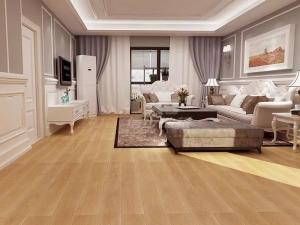 信步地板图片 客厅木地板装修效果图