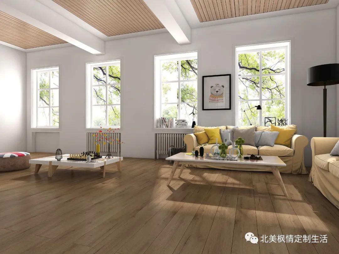 北美枫情木家居图片 家居地板装修效果图_7