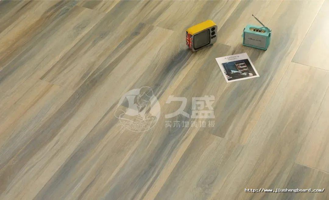 久盛实木地暖地板图片 家居地板装修效果图