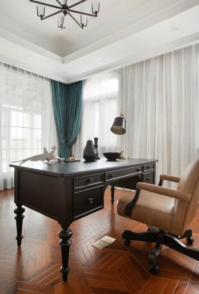 富林地板圖片 優雅法式別墅地板裝修效果圖