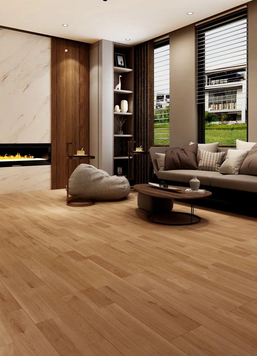 柯诺地板新品上市 追光系列地板效果图_9