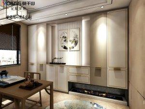 莫干山地板图片 新中式风格家居地板装修效果图