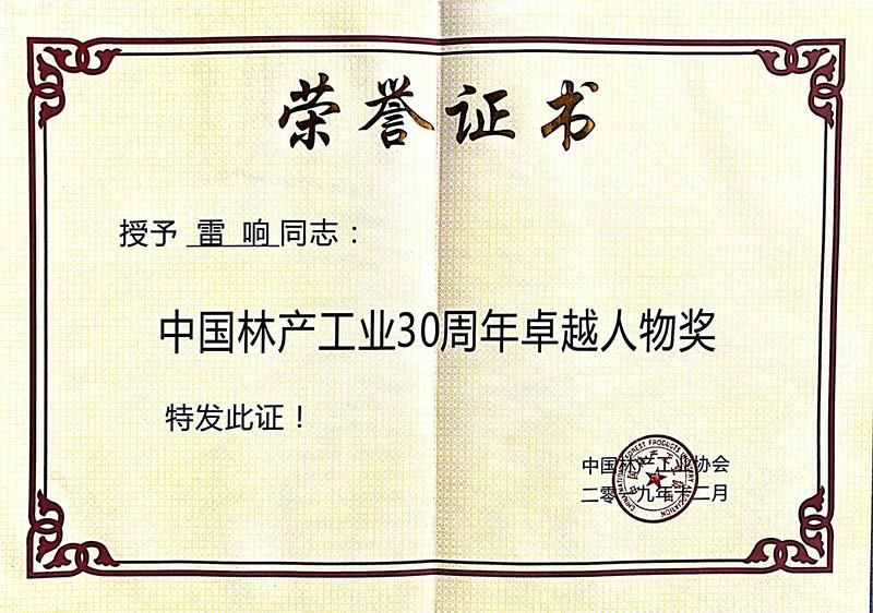 【荣誉资质】荣誉证书