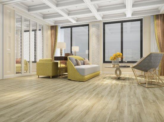 永林蓝豹地板图片 家居木地板装修效果图