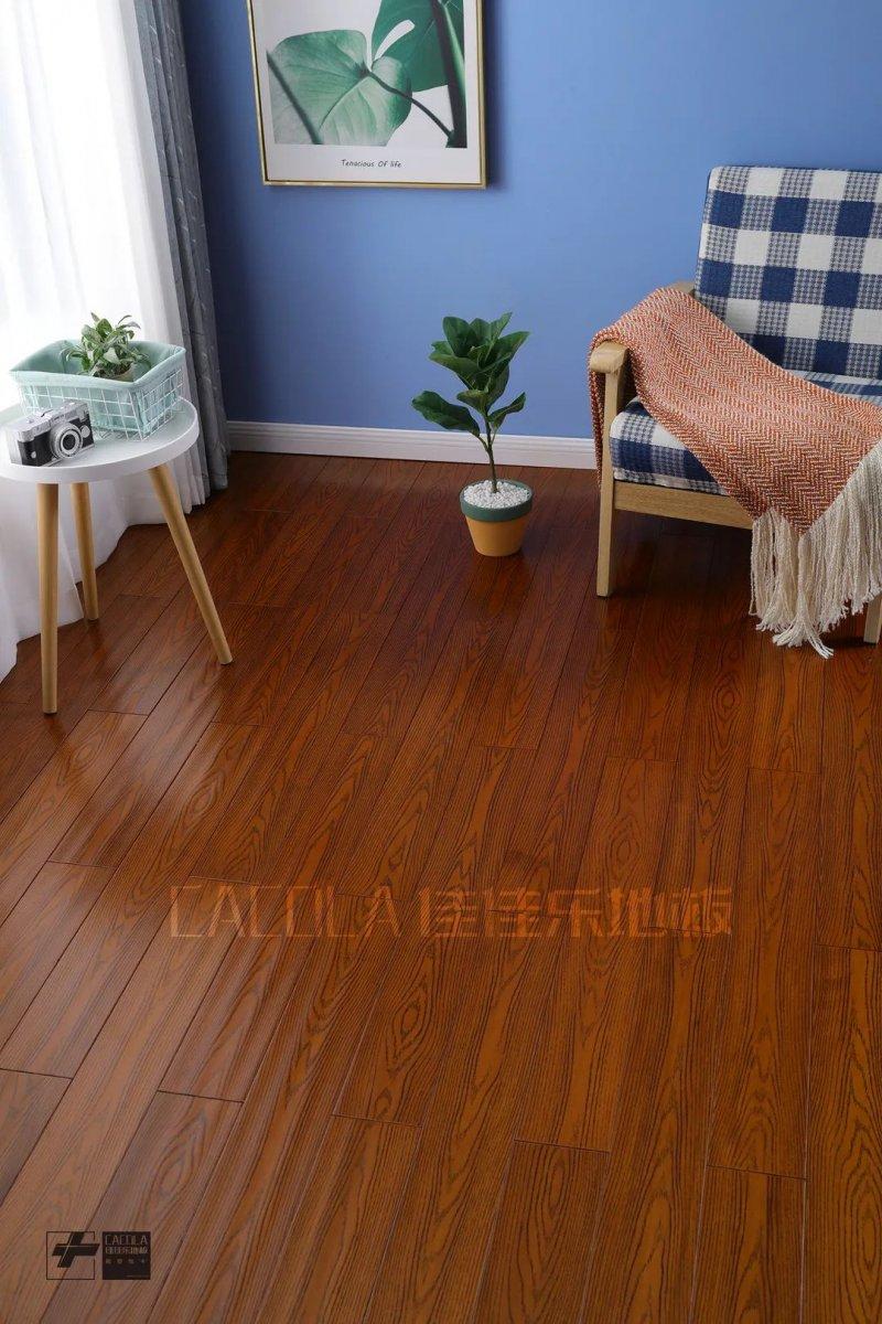 佳佳乐地板图片 地暖实木地板装修效果图