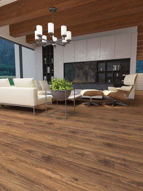 大友地板图片 超人系列新三层实木地板效果图