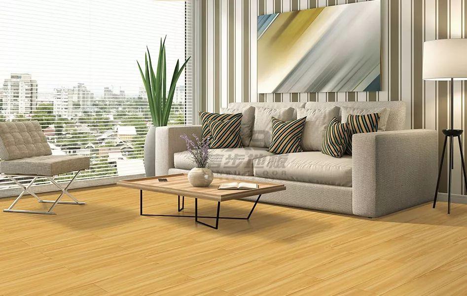 信步地板图片 客厅地板装修效果图