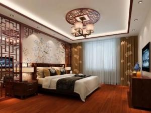 圣保罗地板图片 卧室木地板装修效果图