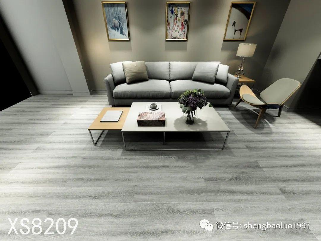圣保罗地板图片 灰色地板装修效果图_1