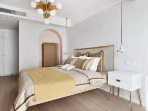 卧室地板装修效果图 卧室地板装修案例