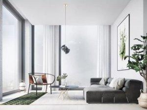 欧莱卡地板-高级灰家居装修设计风格