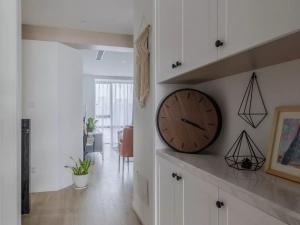 康地佳地板-小户型现代风复式楼装修设计