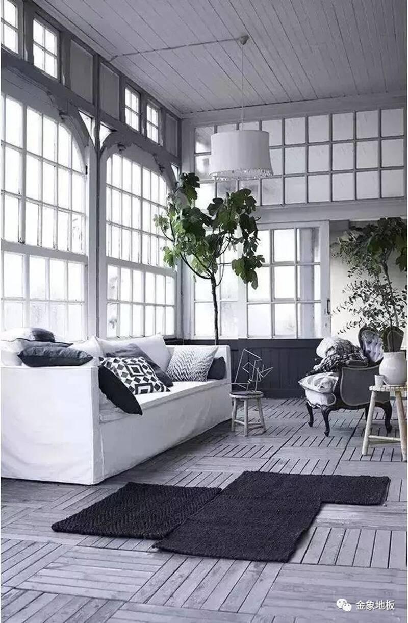 金象地板-现代轻奢风格下的地板搭配美学效果图_3