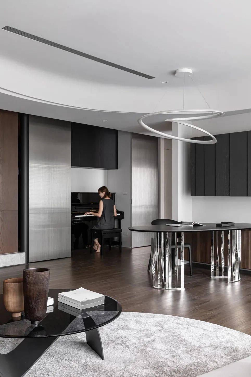 LG Hausys地板:纯粹而艺术的现代空间_6
