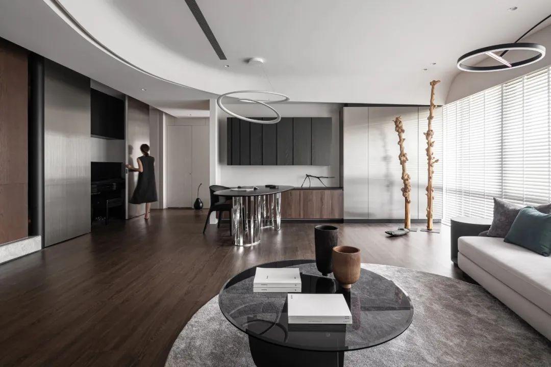 LG Hausys地板:纯粹而艺术的现代空间_3