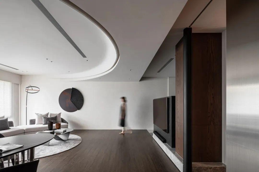 LG Hausys地板:纯粹而艺术的现代空间_1
