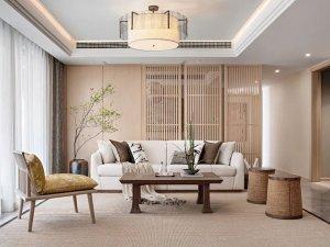 LG Hausys地板-轻奢新中式家居装修风格设计方案