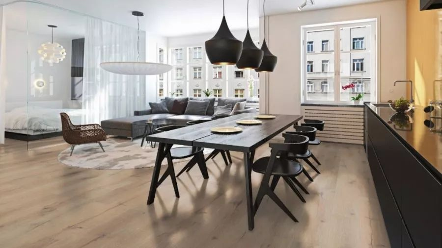 圣象地板暖色调木地板-木地板安装图片赏析_1