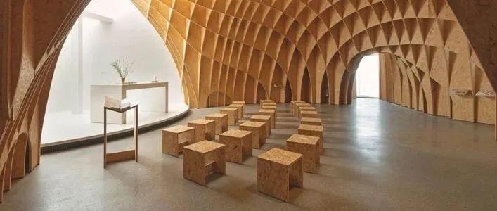 千年舟OSB板-打造艺术空间-原木色板材图片_3
