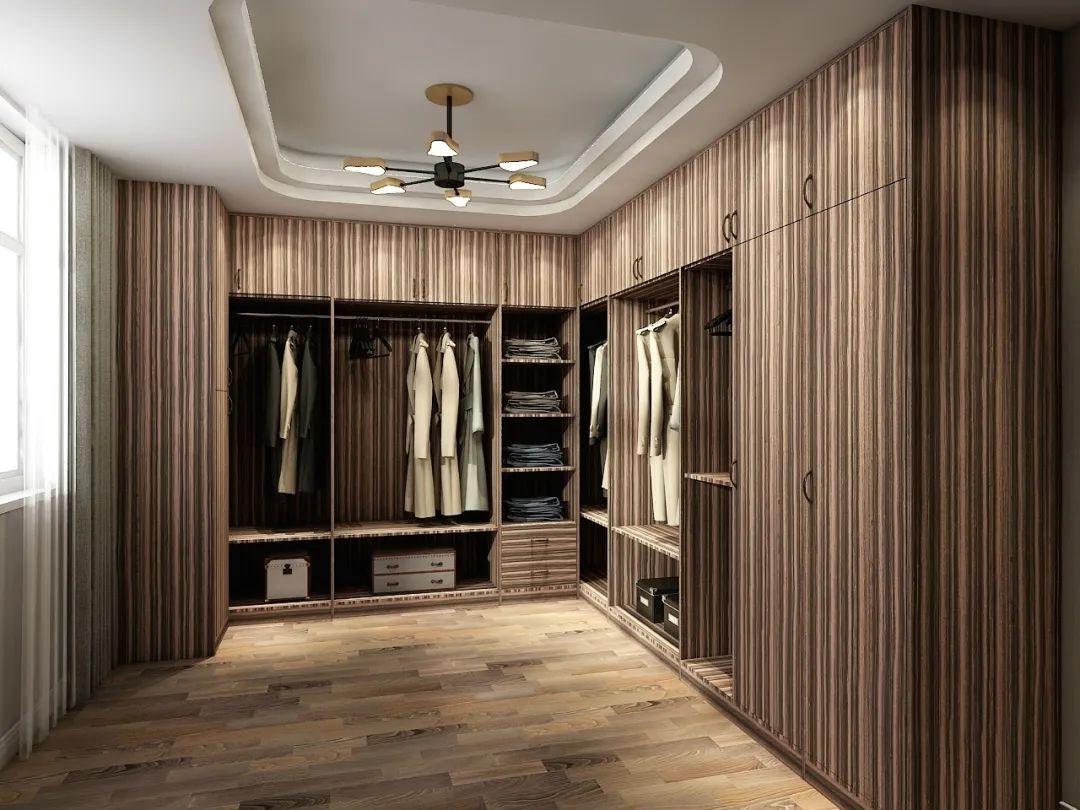 莫干山地板-现代简约风衣柜装修设计方案_10