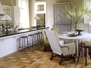 圣象地板-新中式风室内装修设计风格案例-地板图片
