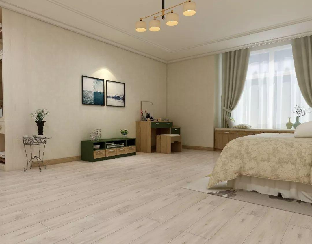 圣象地板-各色系木地板-打造时尚简约白色空间_1