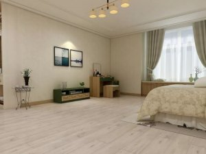 圣象地板-各色系木地板-打造时尚简约白色空间