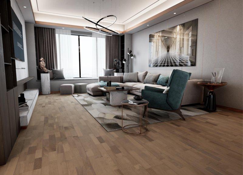 莫干山实木复合地板-实木地板装修图片_1