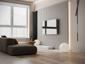 圣罗娜地板 客厅木质地板铺装效果图