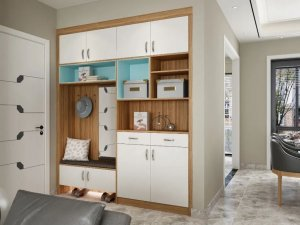 安联木业 时尚轻奢风家居装修设计效果图