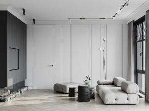 LG Hausys地板 极简素雅家居地板装修效果图