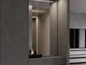 LG Hausys地板高级灰家居装修图片