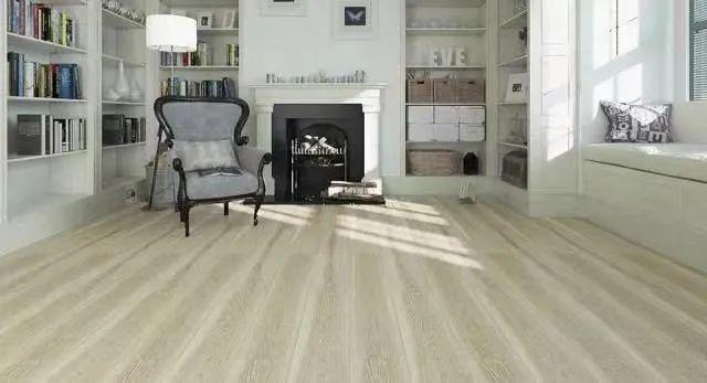 圣象地板-现代经典原木卧室装修设计案例!_8