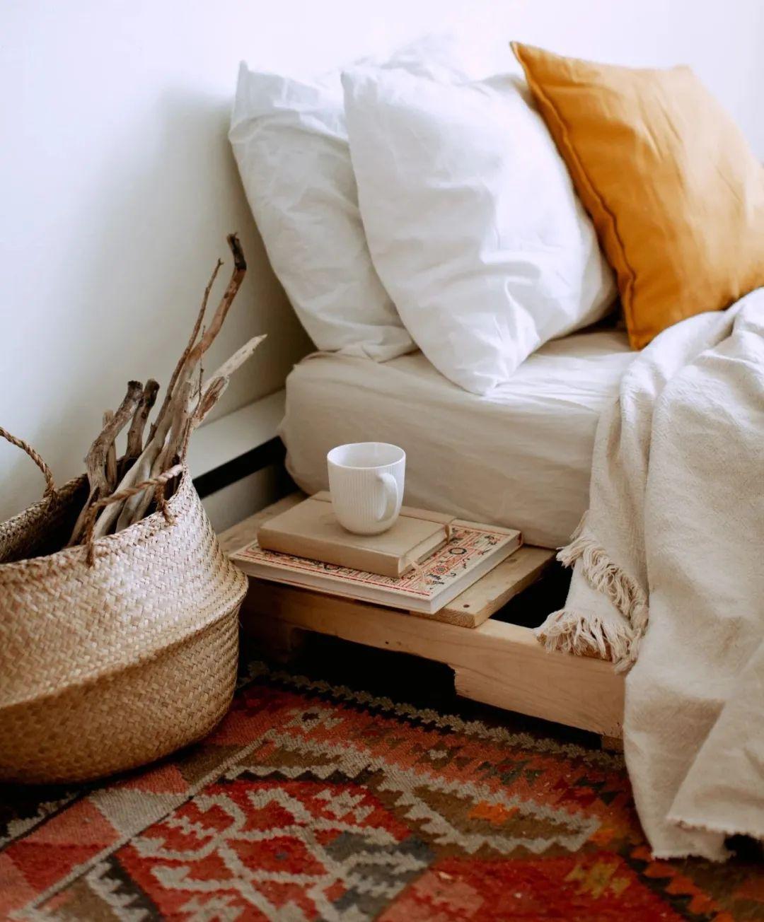 圣象地板-现代经典原木卧室装修设计案例!_6