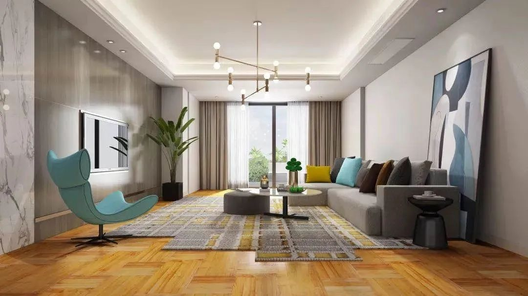圣象地板-现代时尚风家居装修设计方案!_5