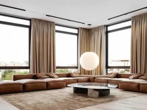 木之初-现代极简时尚风家居装修设计效果图
