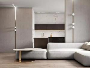 康地佳地板-极简轻奢风家居装修设计效果图
