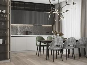 欧派地板-轻奢小户型装修设计方案!