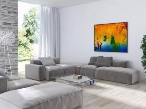 家佰丽地板-简约北欧风室内装修设计效果图