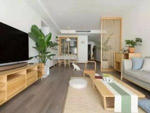 琥珀地板 现代简约时尚风家居装修效果图