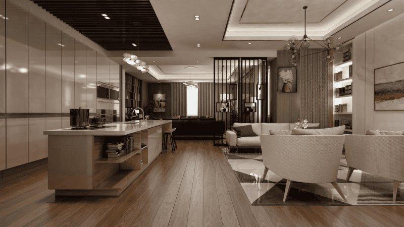 新中式与简欧风,地板设计风格化的潮起潮落