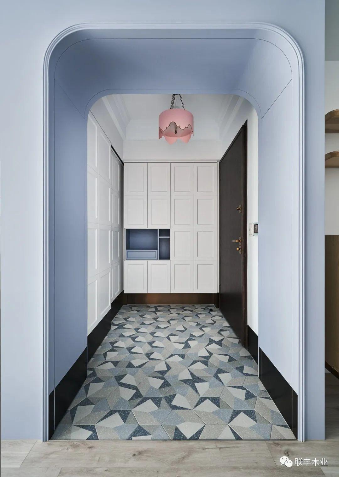 联丰地板 简约淡雅配色地板装修效果图